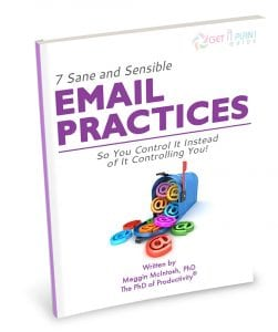 7 Sane and Sensible Email Practices Perspective