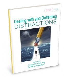 Dealing with and Deflecting Distractions