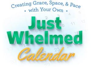 Just Whelmed Calendar