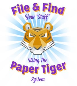 Learn to Use Paper Tiger System to File & Find Your Stuff