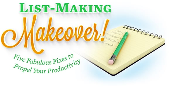 List-making Makeover!