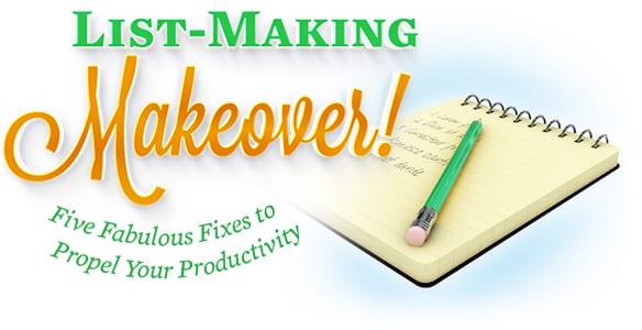 List-making Makeover!