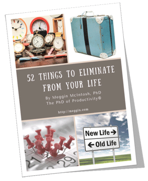 52 Things to Eliminate