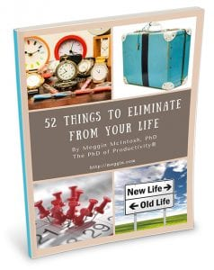 52 Things to Eliminate from Your Life - cover