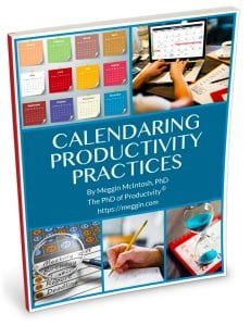 Calendaring Productivity Practices - cover