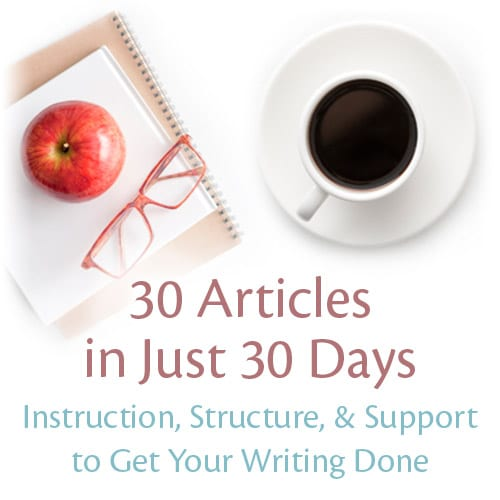 30 Articles in Just 30 Days
