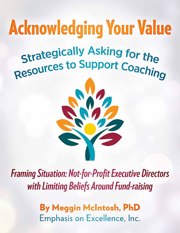 Acknowledging Your Value - Not-for-Profit Executive Directors with Limiting Beliefs Around Fund-raising